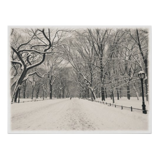Central Park - Poet's Walk - New York City Poster