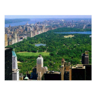 central park post cards