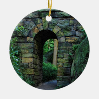 Central Park: Ramble Stone Arch Christmas Ornament