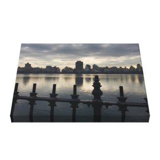 Central Park Reservoir New York City Sunrise NYC Canvas Print
