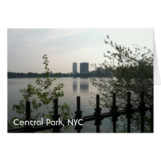 Central Park Reservoir New York City Sunrise NYC