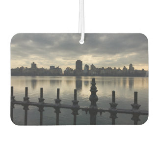 Central Park Reservoir Sunrise New York City NYC Car Air Freshener