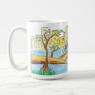 Central Park Rhodesian Ridgeback mug