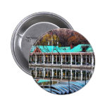 Central Park Rowboat Restaurant Boathouse Pinback Button