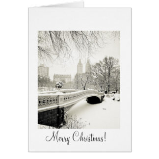 Central Park Snow - Christmas Greeting Card