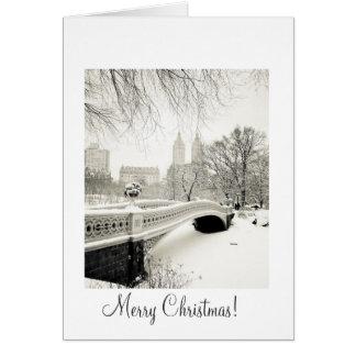 Central Park Snow - Christmas Greeting Card