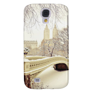 Central Park Snow - Winter New York Galaxy S4 Cover