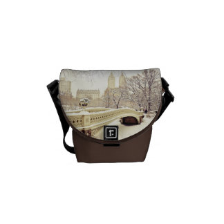 Central Park Snow - Winter New York Commuter Bag