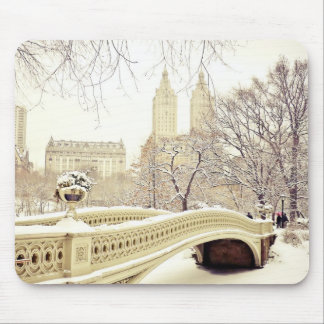 Central Park Snow - Winter New York Mouse Mat