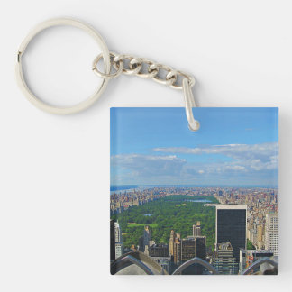 Central Park Square Key Chain