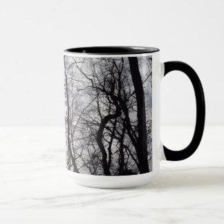 Central Park Trees In Winter Mug