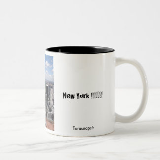 Central Park View Two-Tone Coffee Mug