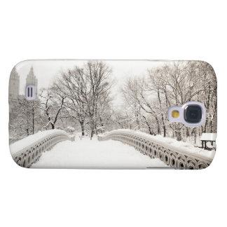 Central Park Winter Romance - Bow Bridge Galaxy S4 Case