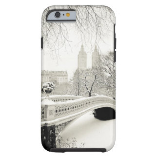 Central Park Winter - Snow on Bow Bridge Tough iPhone 6 Case
