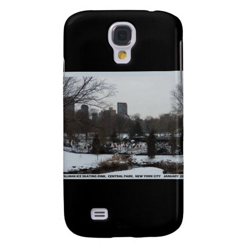 Central Park Wollman Ice Skating Rink Galaxy S4 Cover