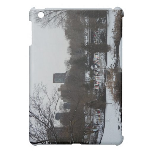 Central Park Wollman Ice Skating Rink Case For The iPad Mini
