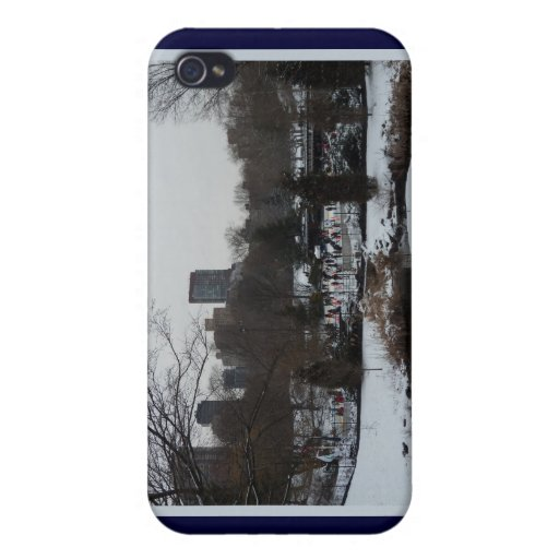 Central Park Wollman Ice Skating Rink iPhone 4 Case