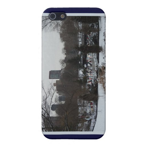 Central Park Wollman Ice Skating Rink Case For iPhone 5
