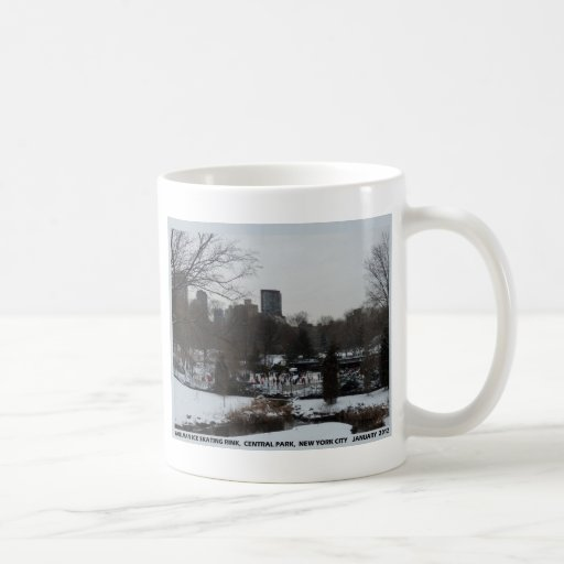 Central Park Wollman Ice Skating Rink Coffee Mug