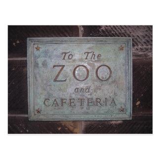 Central Park Zoo Postcard