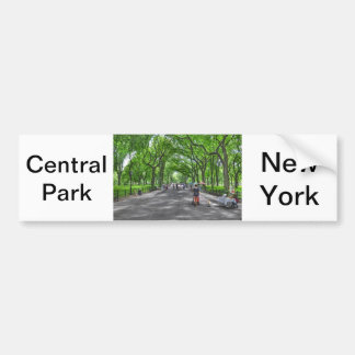 Central Park's Literary Walk Bumper Stickers