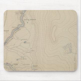 Central Portion of Upper Geyser Basin Mouse Mat