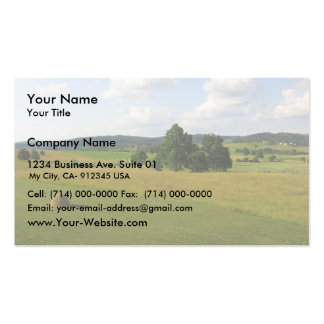 Central Serbian Farms Pack Of Standard Business Cards