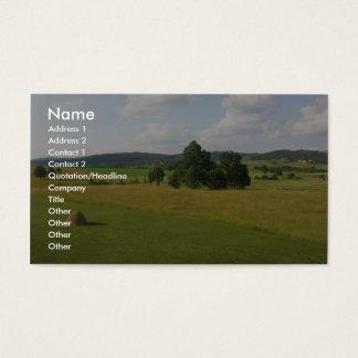 Central Serbian Farms Business Card