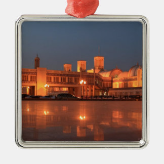 Central Souq or Blue Souk, Sharjah.jpg Christmas Ornament