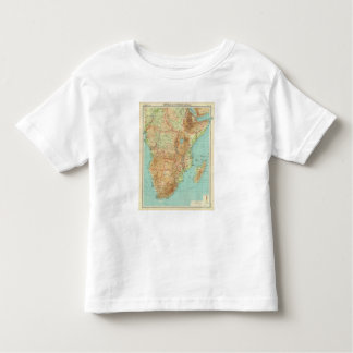 Central & Southern Africa with shipping routes Toddler T-Shirt