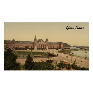 Central Station, Amsterdam, Netherlands Double-Sided Standard Business Cards (Pack Of 100)
