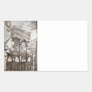 Central Station Notre Dame Rectangular Sticker