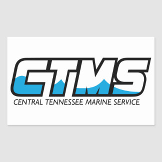 Central Tennessee Marine Service Rectangular Sticker
