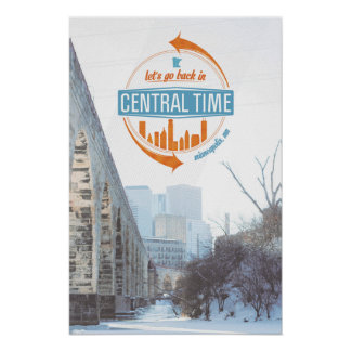 Central Time Print