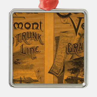 Central Vermont, Grand Trunk Line Christmas Ornament