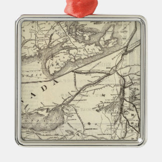Central Vermont Railroad excursion routes Christmas Ornament