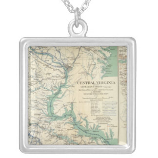 Central Virginia 18641865 Silver Plated Necklace