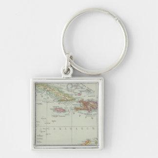 Centralamerika und Westindien - Central America Key Ring