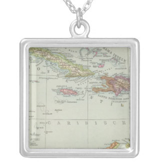 Centralamerika und Westindien - Central America Silver Plated Necklace