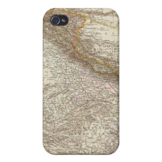 Centralasien, Ostindien - Central and South Asia iPhone 4/4S Cover