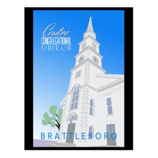 Centre Congregational Church Postcard