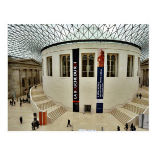 Centre Court Of The British Museum In London Engla Postcard
