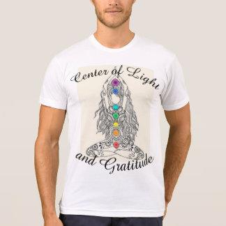 Centre of Light and Gratitude Mens tshirt