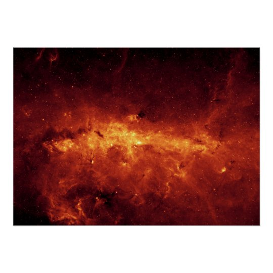 Centre of the Milky Way Poster