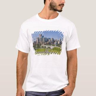 Centre St Bridge and Downtown Calgary, Alberta, T-Shirt