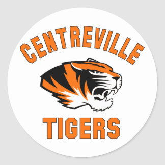 Centreville Tigers2013.png Round Sticker