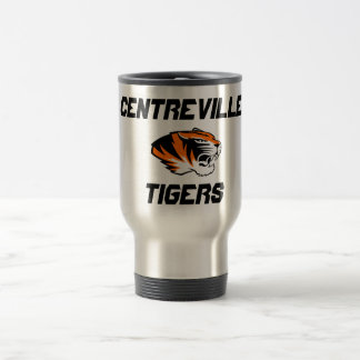 Centreville Tigers Stainless Steel Travel Mug