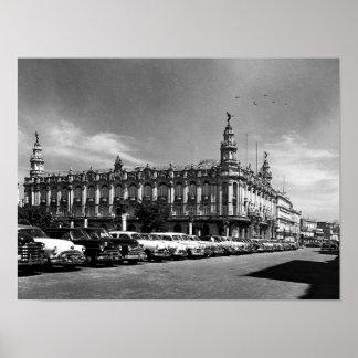 Centro Gallego Havana Cuba 1958 Poster
