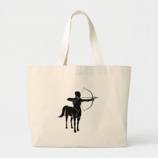 Centuar Horse Man Large Tote Bag