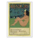 Century Midsummer Holiday August, Maxfield Parrish Cards